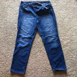 Style & Co size 16W straight leg jeans